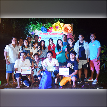 "CNSC conducts ""La Familia"" teambuilding activity"